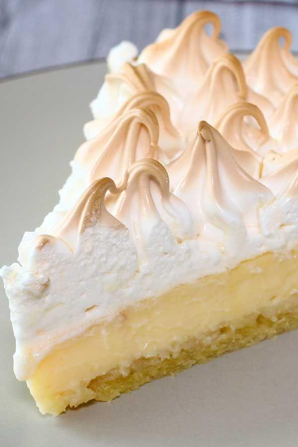 Lemon Meringue Pie El Mundo Eats Lemon Pie Recipe Lemon Pie Recipe Condensed Milk Lemon Meringue Pie Easy