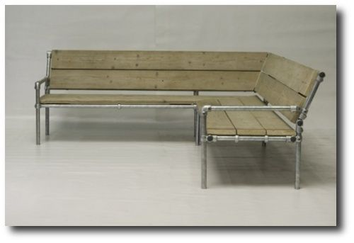 Water Pipe Bench