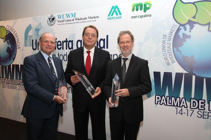 2010 WUWM Award Winners Mercazaragoza, Spain, City of Duisburg, Germany and National Association of British Market Authorities (NABMA)