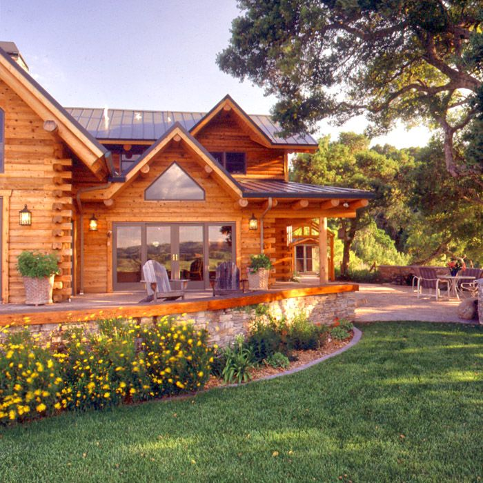 Log Home Exterior Ideas: Best 25+ Log Home Decorating Ideas On Pinterest