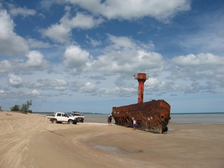 Old Light Ship Vrilya Point Cape York