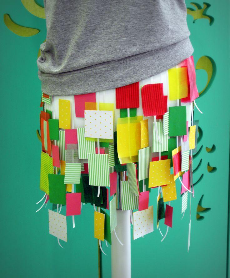 paper skirt!