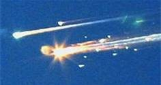 I just discovered the history part of pinterest... Space Shuttle Columbia Explosion 2003