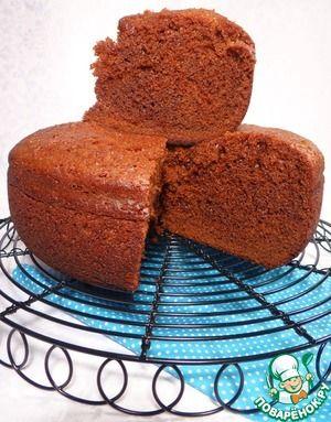 Пряный медовый пирог в мультиварке