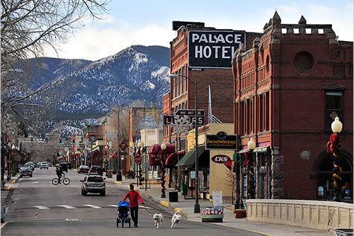 Salida Colorado our old Downtown