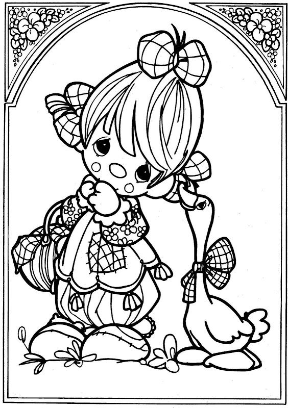 precious moments farm animals coloring pages | 94 best 4 Kids Coloring: Very Young Kids images on ...