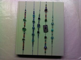 Beaded Elastic Bookmarks Set 4 - Bookmarks by Jen