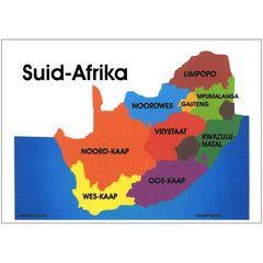 Suid Afrika Kaart