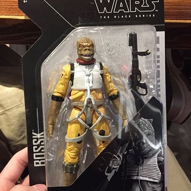 "Star Wars The Black Series Archive Bossk 6/"" Figure New"
