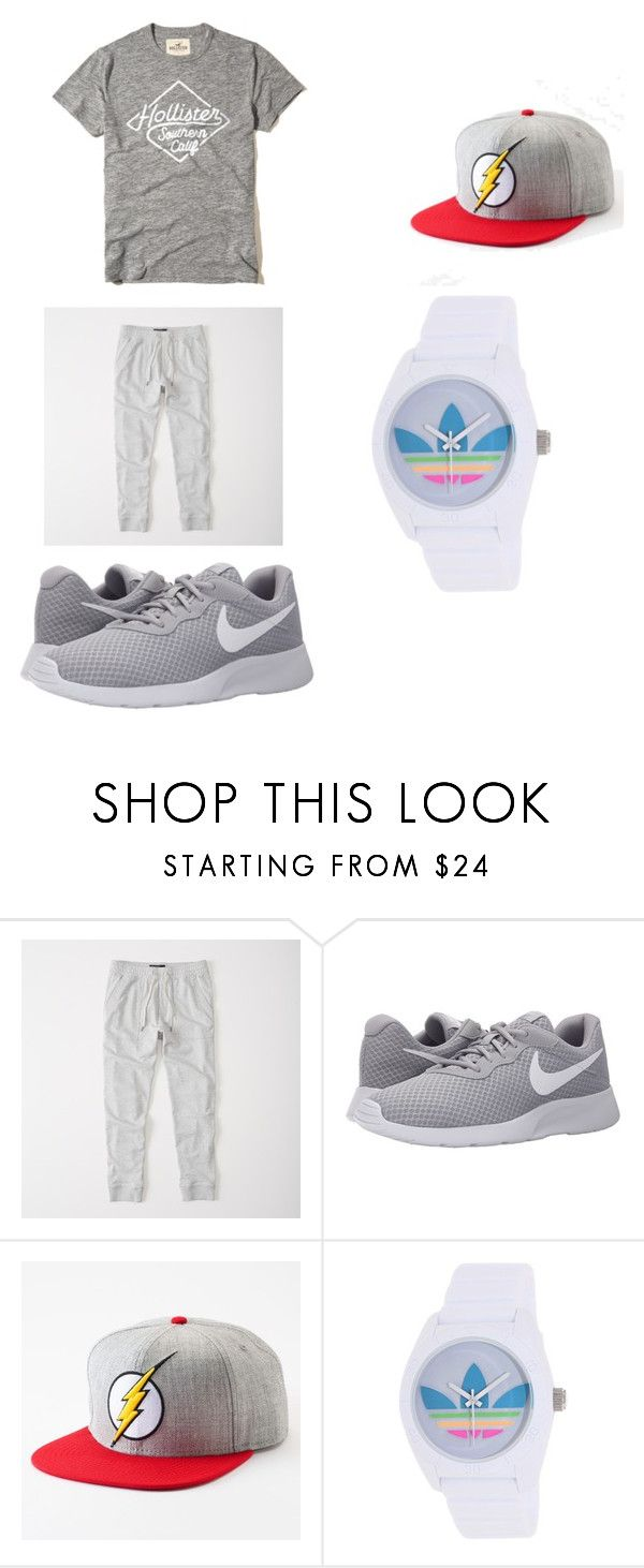 """""""hbgydaa"""" by gerardojuarezcarbajal on Polyvore featuring Abercrombie & Fitch, NIKE, adidas, Hollister Co., men's fashion and menswear"""