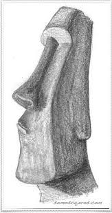 18 best Moai tattoo images on Pinterest  Easter island Drawings