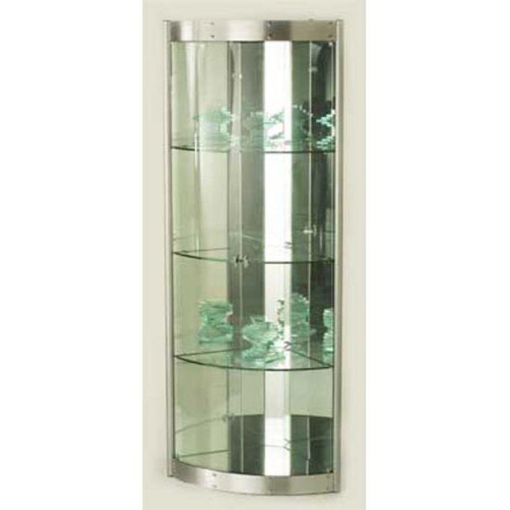 Chintaly Coventina Corner Curio Cabinet - 6617-CUR-COR