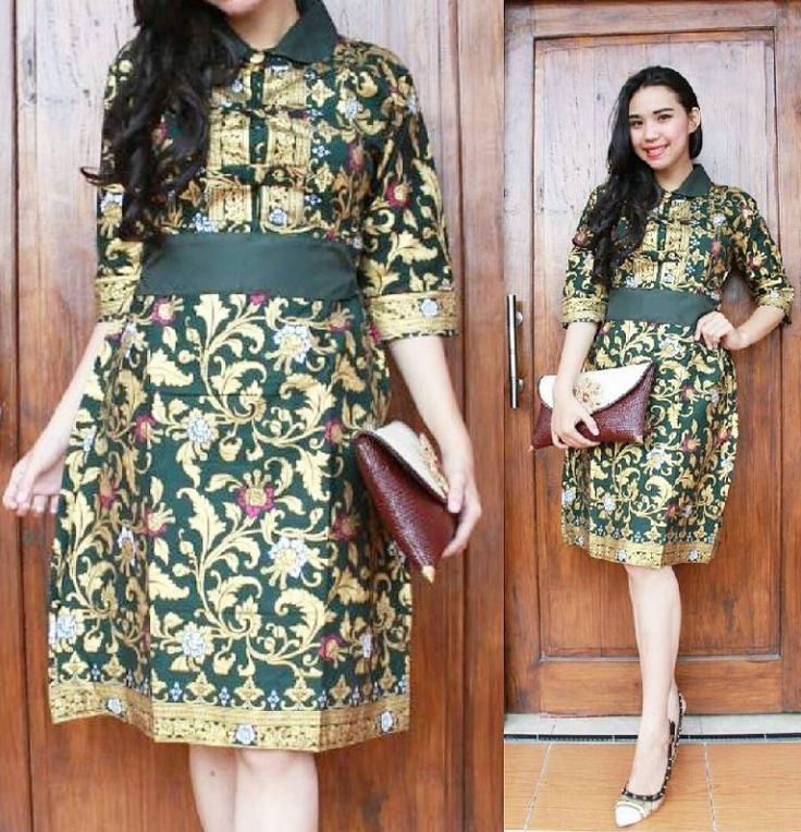 Women's Batik Dress for Wedding Party