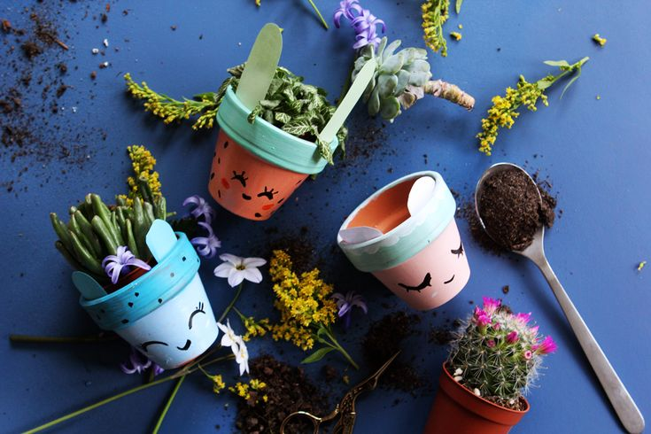 DIY : les pots mignons ! - Poulette Magique - blog DIY & déco - Narbonne