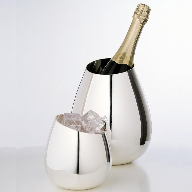 Ercuis Attraction Champagne cooler & ice bucket | Artedona.com