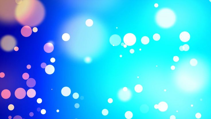 Blue particles wind bokeh - HD animated background #49