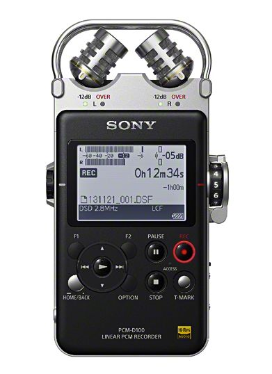 SONY PCM D-100 - a modern day Walkman for professional recording
