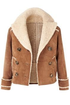 Spotted: the shearling aviator jacket | Girls, Fall coats and ...