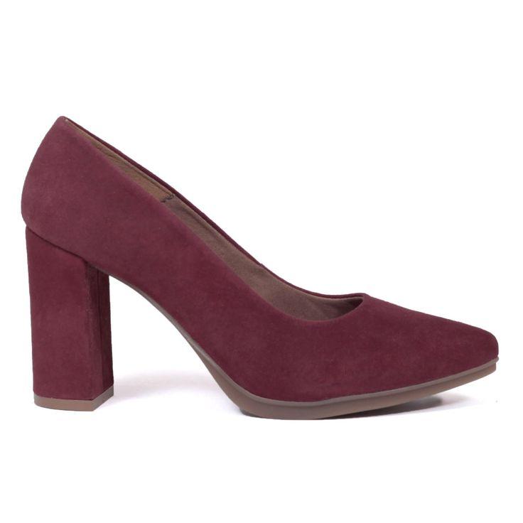 miMaO Urban zapato de salón - Rojo Burdeos – Chaussure escarpin urban Rouge  Bordeaux - Urban