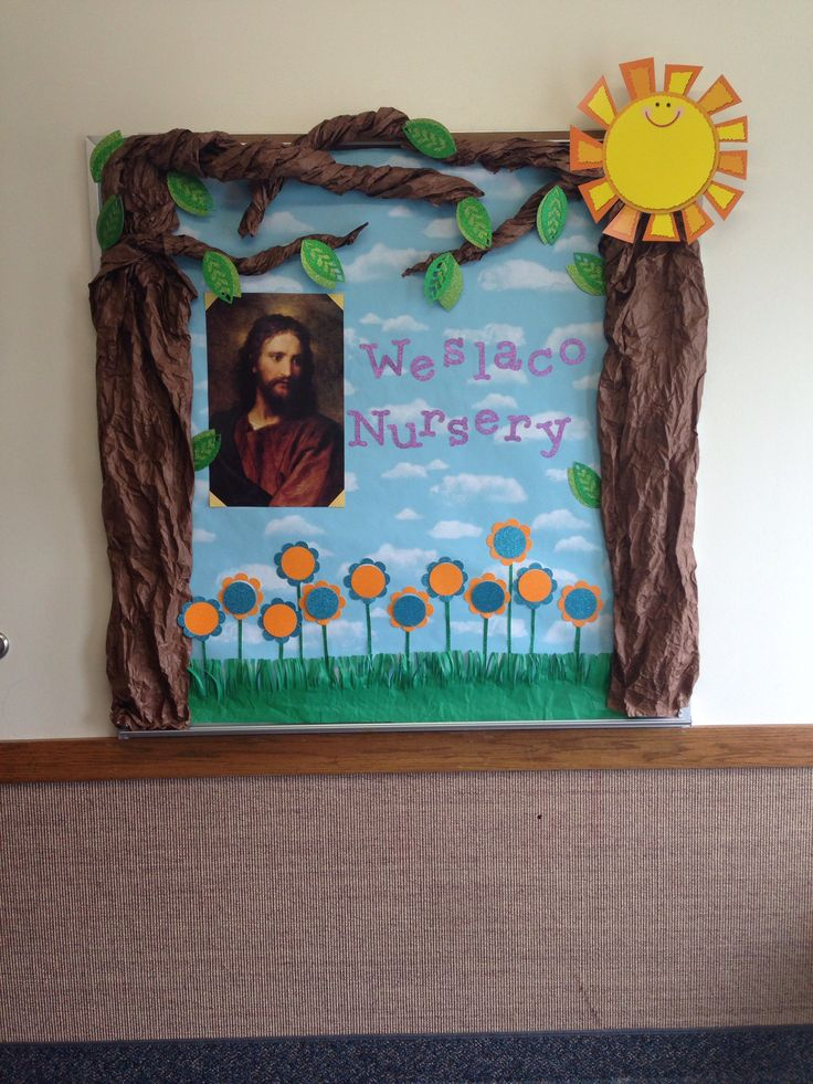 33 best images about lds nursery on pinterest for Idea door primary 2014
