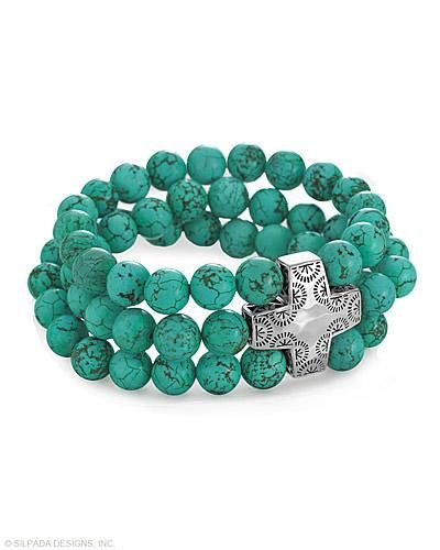 NEW for Spring 2014 - MUST HAVE!! Devotion Stretch Bracelet, Bracelets - Silpada Designs