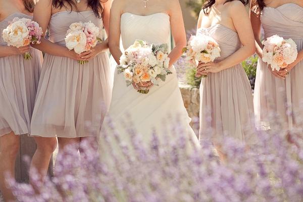 Nude!: Dresses Style, Floral Design, Bridesmaid Dresses, Shorts Style, Colors Palettes, Wedding Flowers, Napa Wedding, Bridesmaid Bouquets, Style Me Pretty