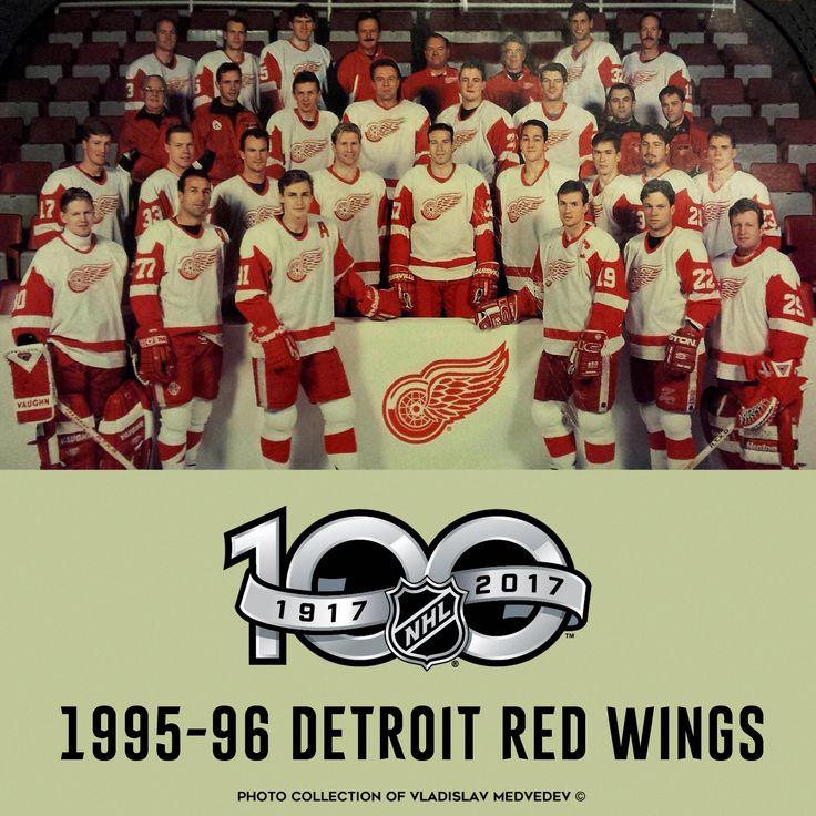 Detroit Red Wings | 1995-96 #хоккей #нхл #детройт #русскаяпятёрка #nhl #icehockey #detroitredwings #историяхоккея