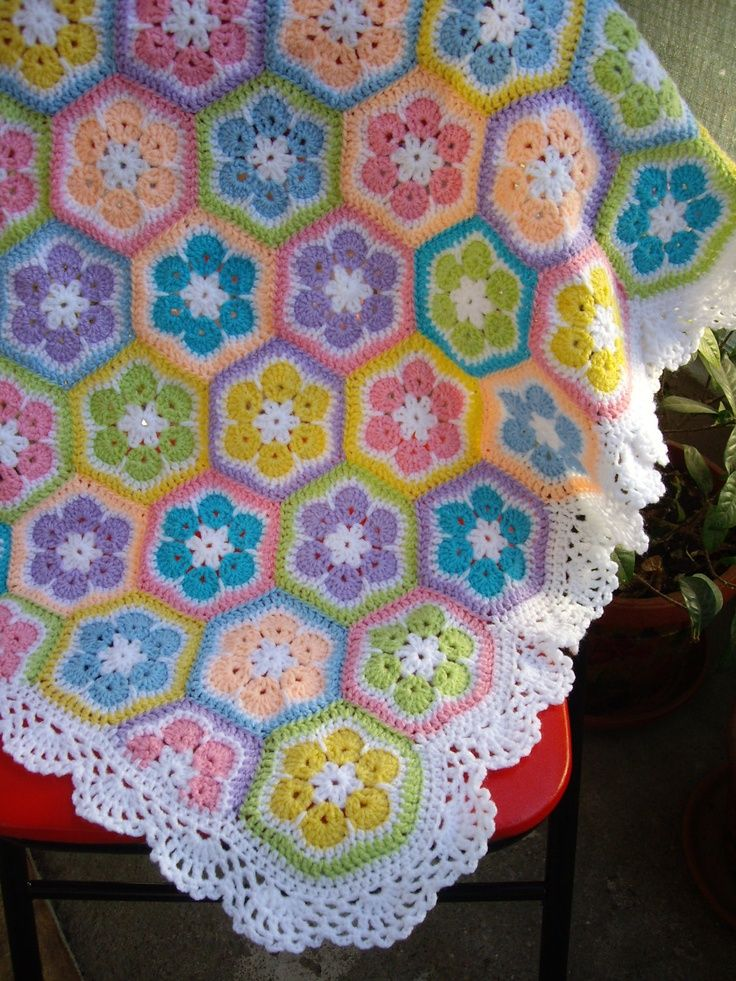 One Day I will be able to make this...One   Day...Granny Square Crochet Blanket. Etsy.
