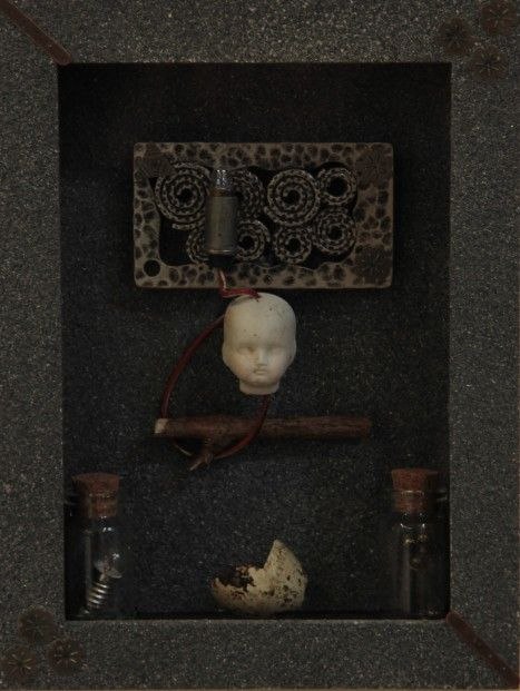 Ruby Rae Caput Lux_ mixed.media.assemblage | Scottish Contemporary Art