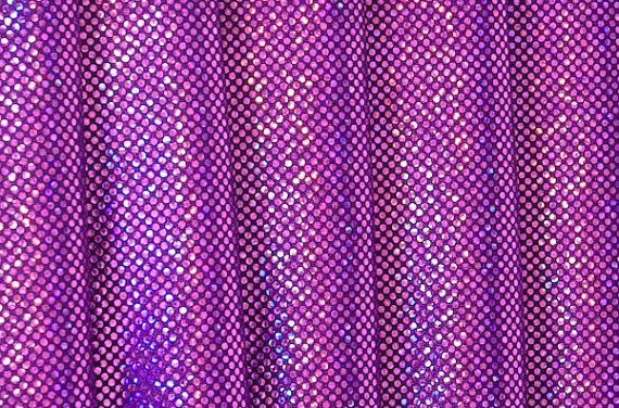 "Amethyst Purple Digital Hologram Spandex Fabric  $2.81 - 3"" x 60"" $4.72 - 6"" x 60"" $7.31 shipping"