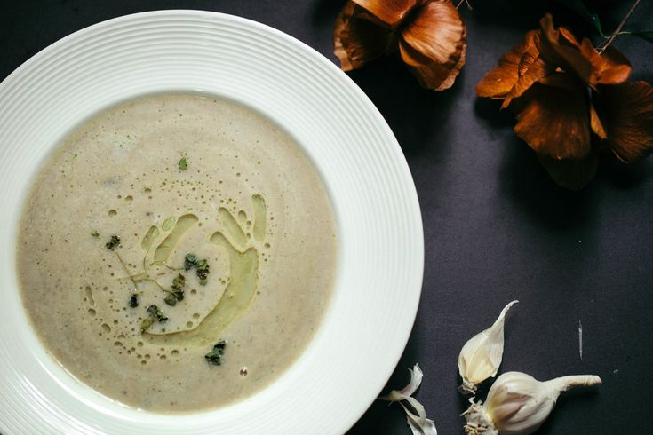 Black Eyed Beans Soup with Coconut Milk