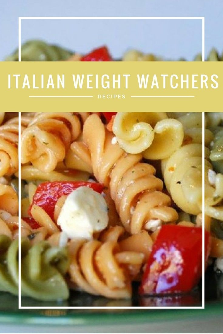 I'm about to make your day with these Italian Weight Watchers recipes! Who else loves Italian food? Pasta, marinara sauce, cheese...yum! But when you're on a diet, Italian food feels like taboo, doesn't it? With these recipes, you can stay on the plan and enjoy what you're eating.
