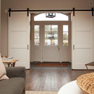 Barn Door Ideas For Living Room