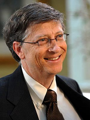 "William Henry ""Bill"" Gates III (born October 28, 1955 in Seattle, Washington) founder of Microsoft Corporation, and Bill & Melinda Gates Foundation."