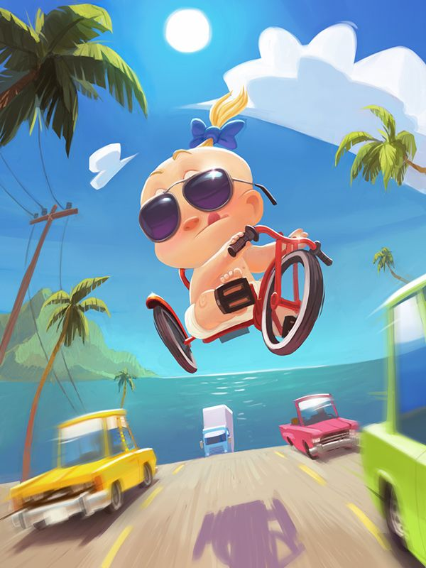 Baby Jack racer on Behance ★ Find more at http://www.pinterest.com/competing/