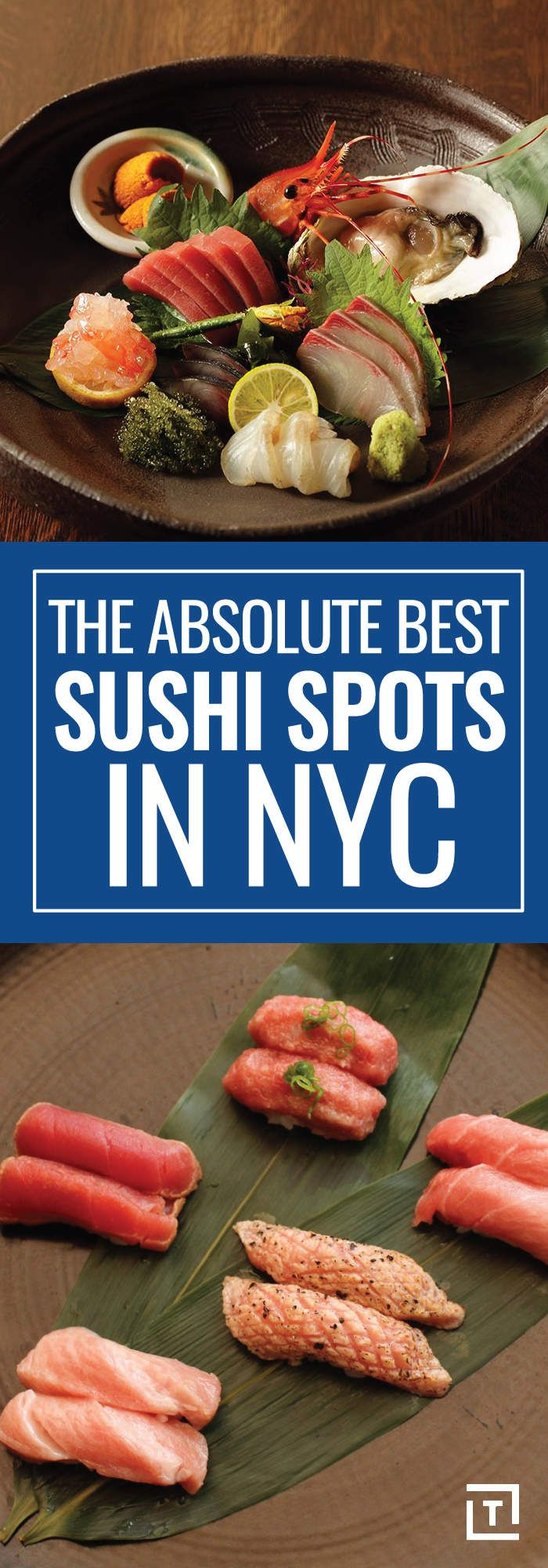 Sushi lovers, refuel for your New York City adventures at one of these top NYC sushi restaurants!