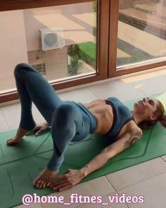 """Фитнес дома. Видеоуроки. en Instagram: """"Не забываем ставить ❤ как благодарность, если было полезно и сохранить себе!! Отличные упражнения для ног и ягодиц. Каждое упражнение…"""""""