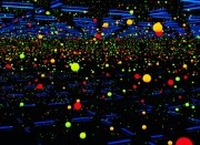 Yayoi Kusama at the Tate Modern  Kusama says 'Polka dots are a way to infinity', they are also a key feature of Kusama's work. Kusama creates 'Infinity Rooms' and her largest one so far is reported to be a part of the exhibition,,
