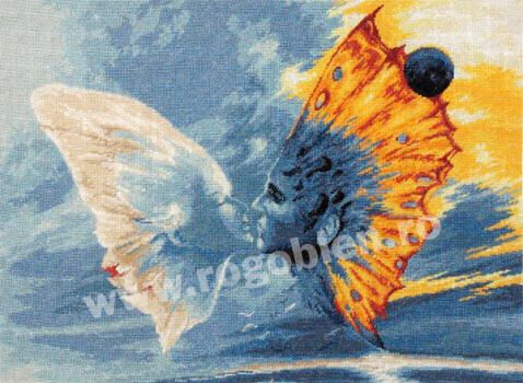 Cod produs 5.34 Sarutul fluturelui Culori: 21 Dimensiune: 22 x 30cm Pret: 61.75 lei