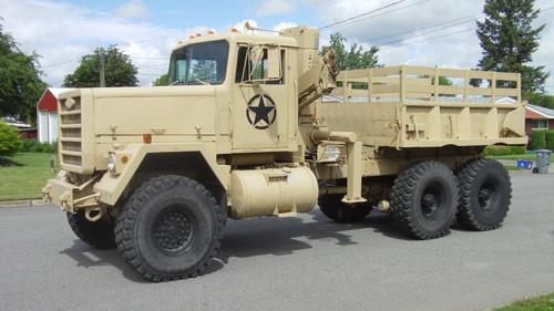 M920 Semi Truck Dump Knuckle Boom Crane 6x6 53 Quot Tires Ntc