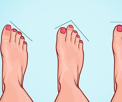 ¡Wow! ESTO es lo que la forma de tus pies revela sobre ti...