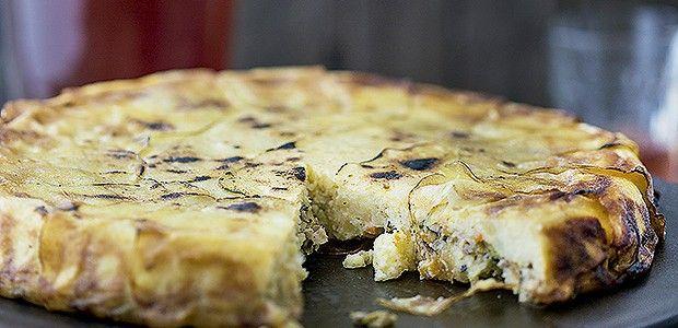 Torta de batata com legumes e cogumelos (Foto: Rogério Voltan/Editora Globo)
