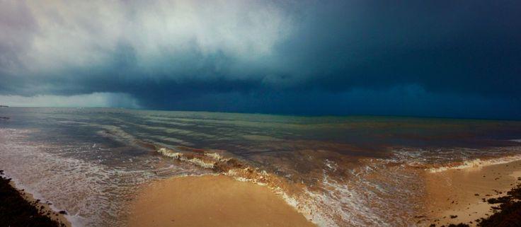 Stormy waters #mexico 2015 #oceancoral #mayanriviera