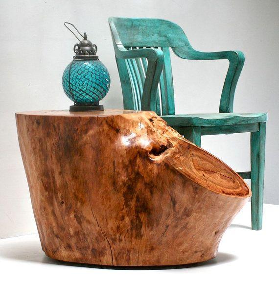 Best 25+ Tree Stump Furniture Ideas On Pinterest