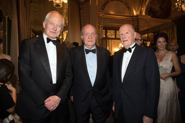 , HSH the Sovereign Prince Hans-Adam of Lietchenstein, the King of Spain Juan Carlos and King Simeon of Bulgaria
