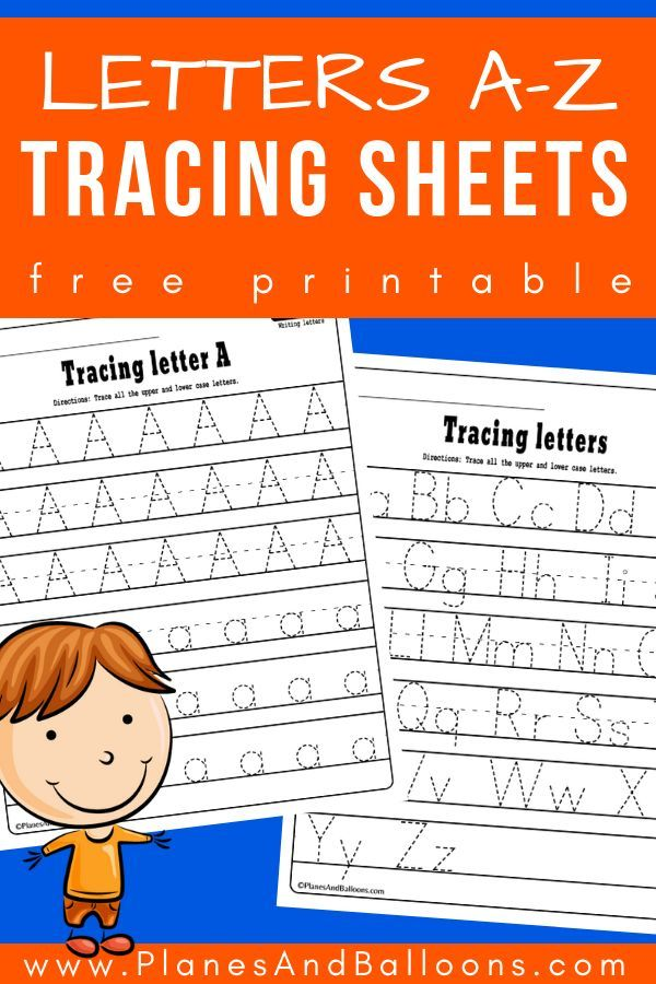 Alphabet Tracing Worksheets A-Z Free Printable Bundle Alphabet Worksheets  Free, Alphabet Tracing Worksheets, Learning Letters Preschool