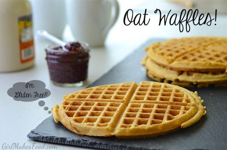Gluten Free Oat Waffles!
