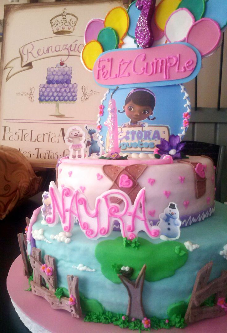 Torta doctora juguetes pasteles de la doctora juguetes pinterest doctora juguetes - Ideas fiesta inauguracion piso ...