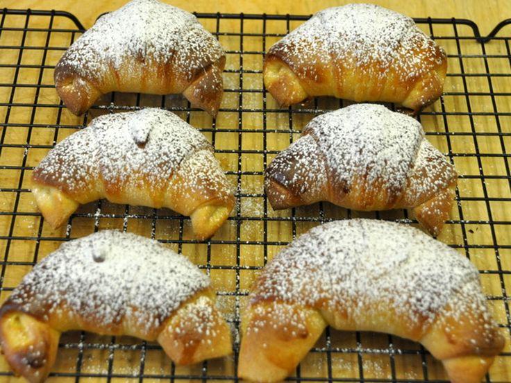 La Video Ricetta dei Cornetti di Pasta di Brioche - VivaLaFocaccia - Le Ricette Semplici per il Pane in Casa