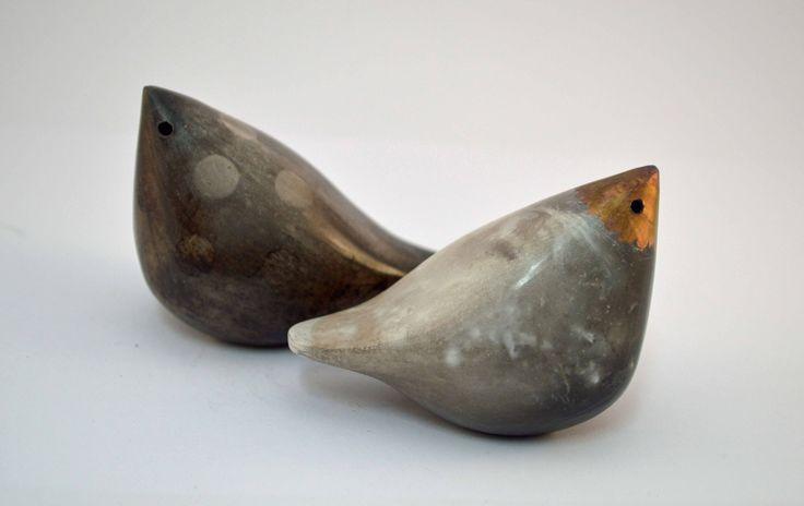 Raku Birds | small birds smoke 1L